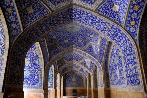 Imam mosque in Isfahan Iran